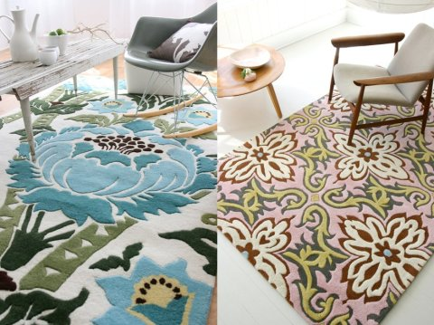 Amy Butler Rugs - Coventry + Temple Garland