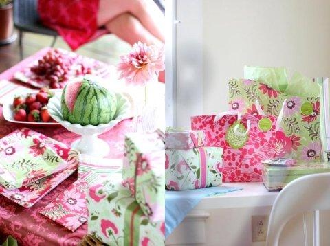 Amy Butler - Tableware + Giftwrap