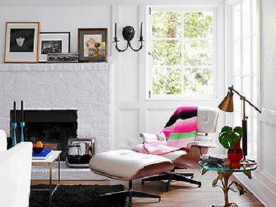 Actress Jennifer Carpenter S Home Via O At Home Magazine