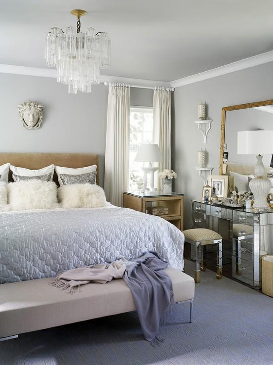 glamorous bedroom design velvet palette