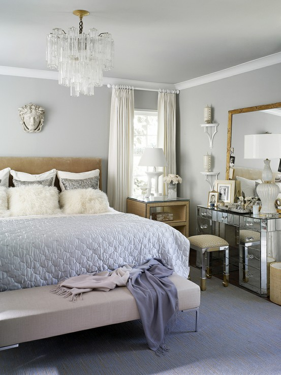 glamorous bedroom design velvet palette. Black Bedroom Furniture Sets. Home Design Ideas