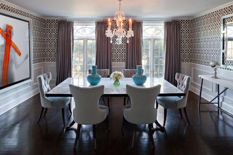 Glamorous Dining Room Design