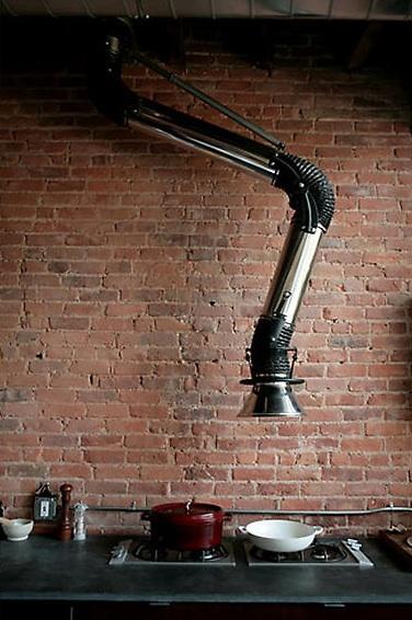 Industrial Exhaust Vents : Industrial kitchens velvet palette
