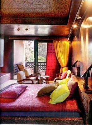 Moroccan Bedroom Velvet Palette