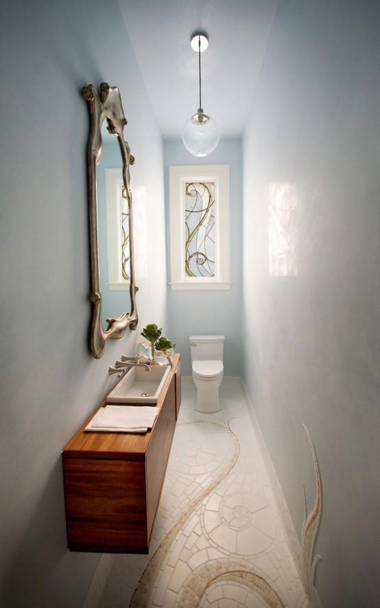 Gorgeous powder room velvet palette for Gorgeous powder rooms