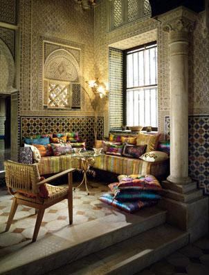 Zara home moroccan living room velvet palette - Moroccan style living rooms ...