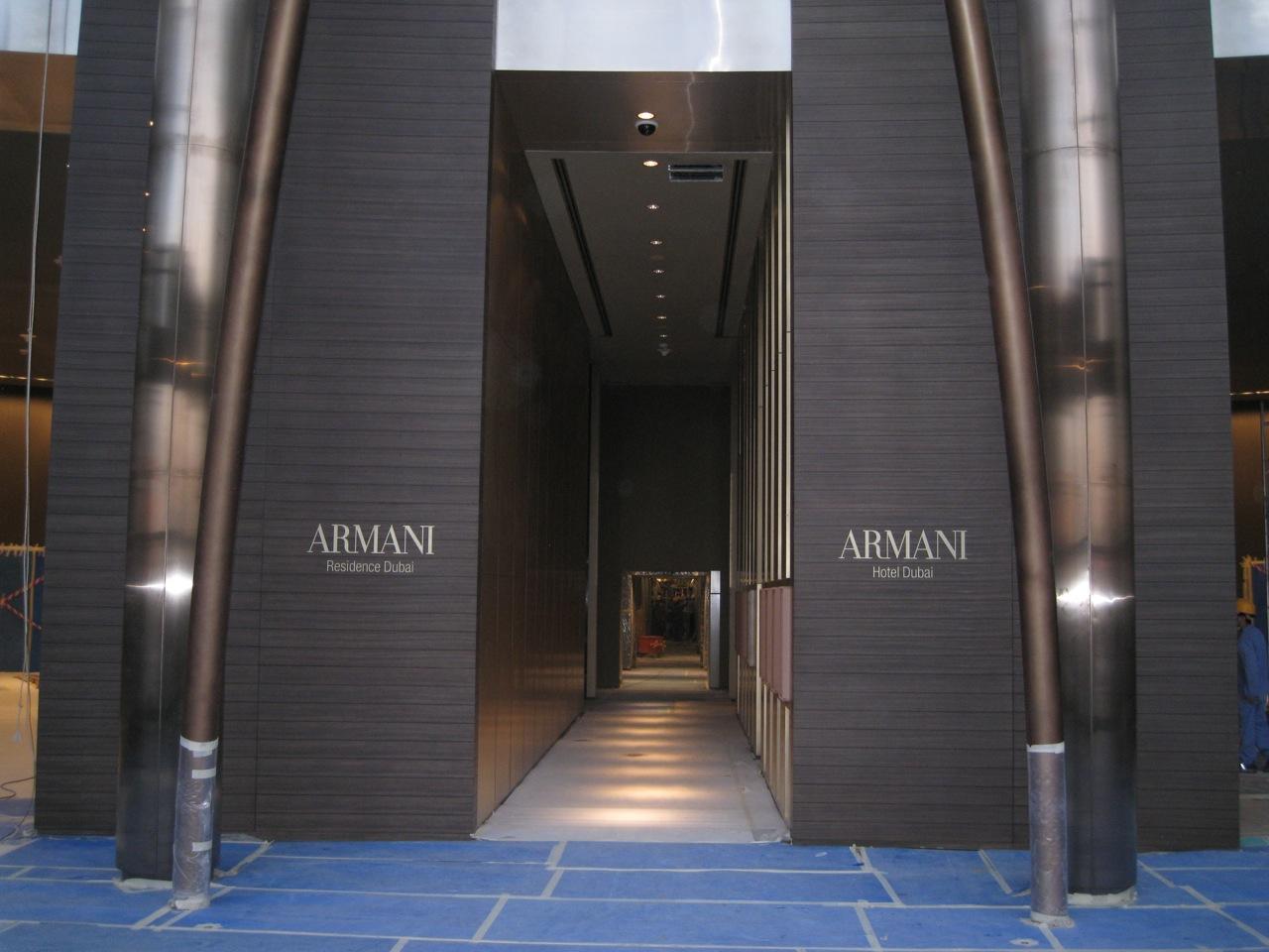 Dubai armani hotel velvet palette Armani hotel in burj khalifa
