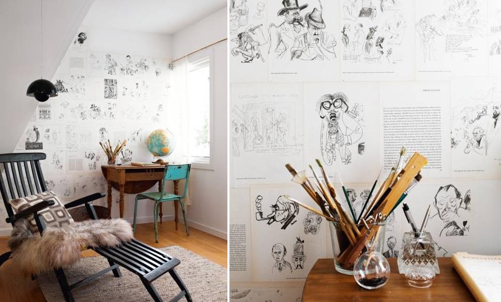 DIY wallpaper   Velvet Palette