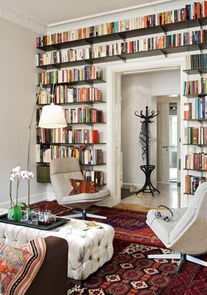 Floor To Ceiling Bookshelves Velvet Palette